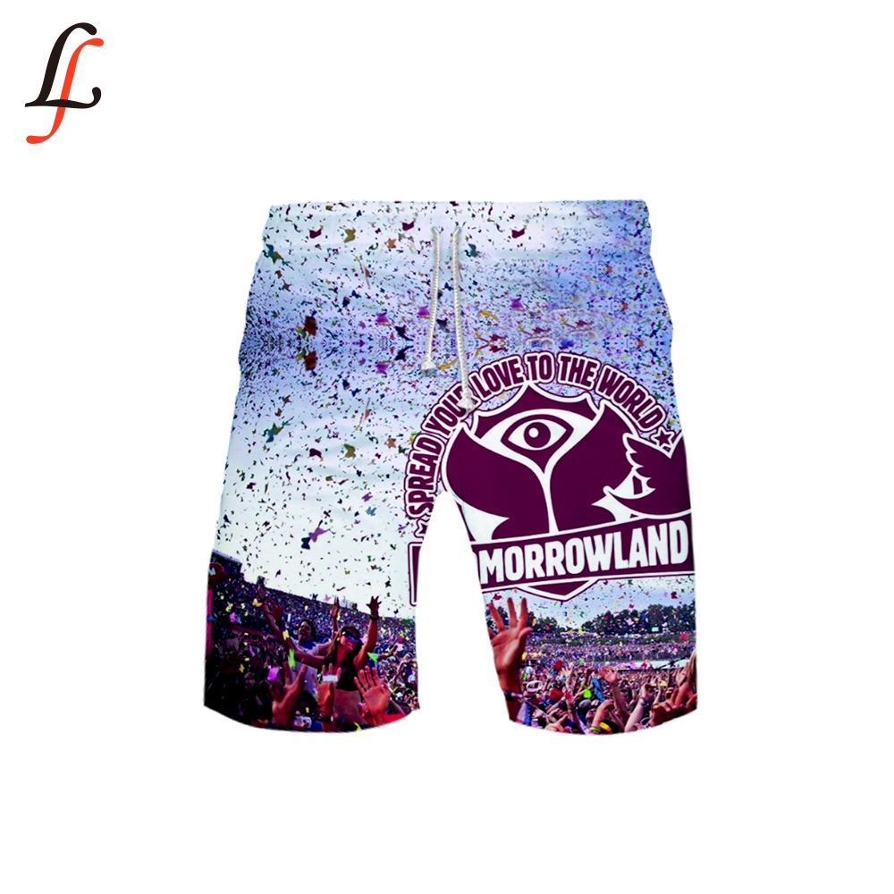 Tomorrowland 3D Leisure Style Beach Shorts Summer Swimming Shorts For Men Swimsuit Bathing Wear Surf Boxer Brie Swim Trunk