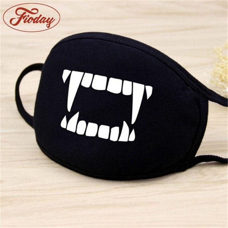 Image 2 - Unisexe visage bouche masque Camouflage bouche moufle respirateur  bande dessinée coton masques en plein air soins de santé masques en  gros livraison directeMasques