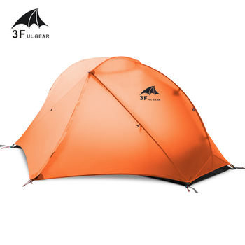 3F UL GEAR Outdoor Ultralight Camping Tent 3/4 Season 1 Single Person Professional 15D Nylon Silicon Tent Barracas Para Camping 3