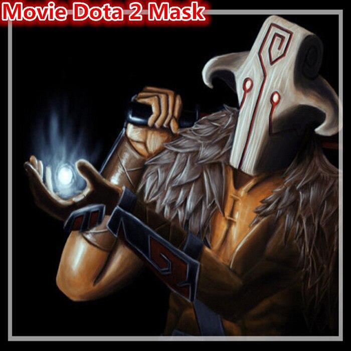 Livraison gratuite Halloween Party Cosplay Film Dota 2 masque Juggernaut masque Latex Halloween Costume Party effrayant Carton Film masque jouet