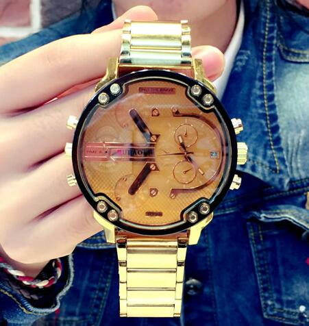 Top Luxury Fashion Brand Watches Men Women Casual Quartz Watch Military Sports Wrist Watch Wristwatch Large Dial Cool Trendy asj top brand 2016 new fashion casual silicone wristwatch men sports military watches men luxury analog quartz led digital watch
