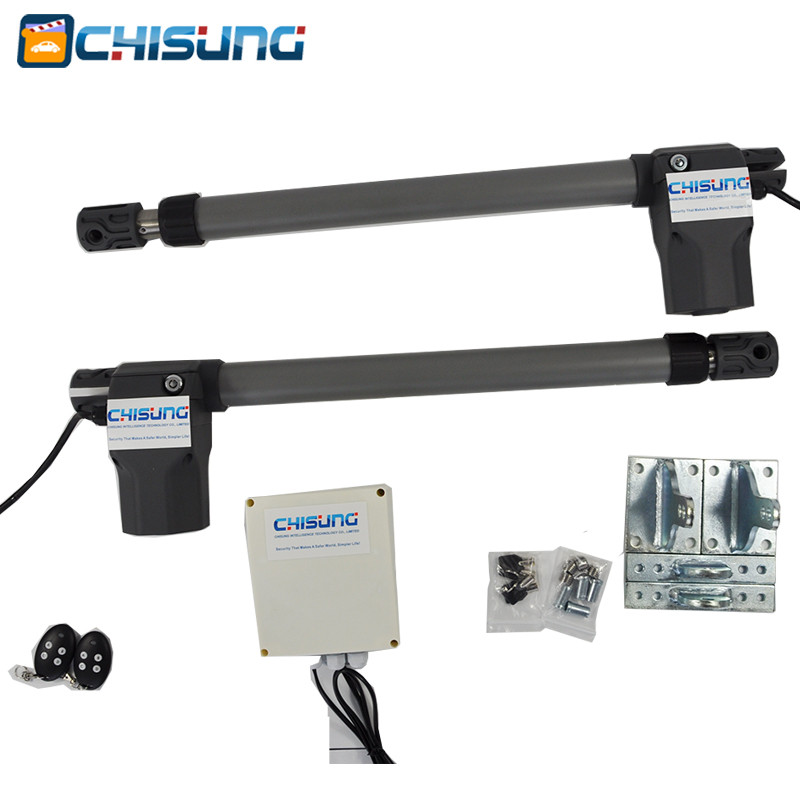 Chisung Automatic 2 Arms Swing Door Gate Dc Has 2.5meters 3 Meters Dual Gate Opener For Access Control System Nourishing The Kidneys Relieving Rheumatism Access Control Back To Search Resultssecurity & Protection