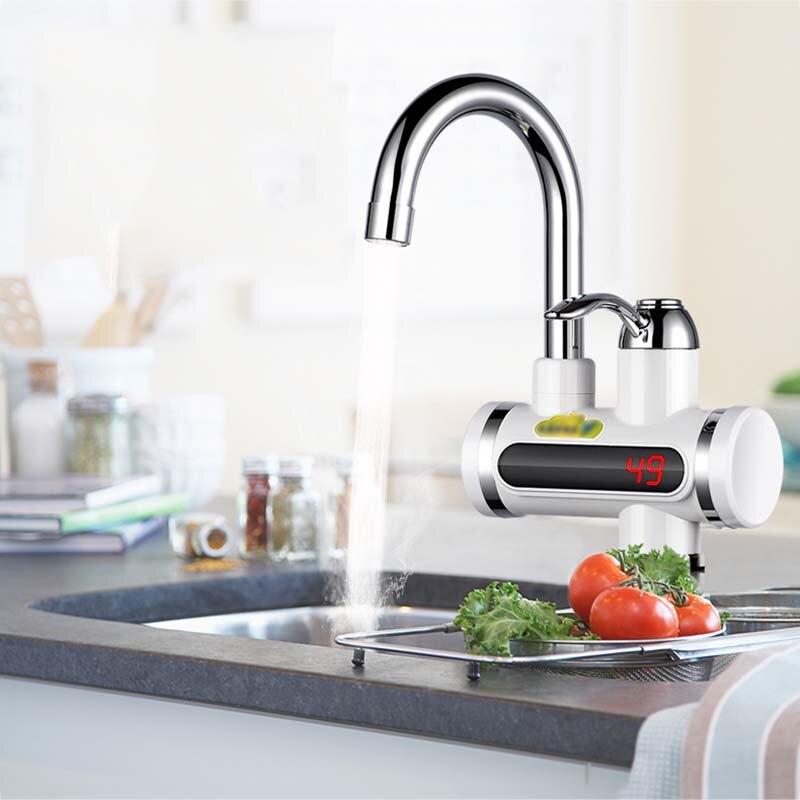 Chauffe-eau électrique sans réservoir chauffe-eau instantané chauffe-eau robinet de chauffage à froid chauffe-eau électrique instantané