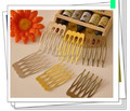 27*40MM 100PCS (Nickel/Gold/Bronze) Metal Hair Comb Claw Hairpins DIY Jewelry Findings&Components hair accessories 100pcs/lot