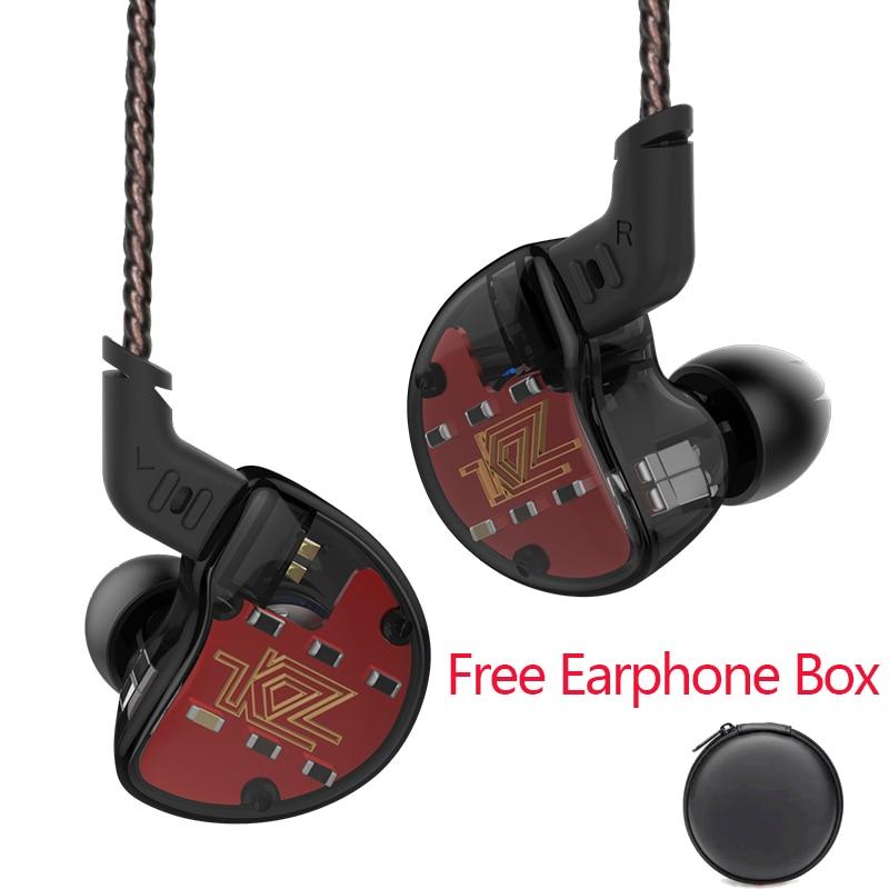 KZ ZS10 In Ear Earphone Dynamic 4BA hybrid 10 Driver Armature Earbuds HiFi DJ Monitor high fidelity Deep Bass ZS6 ZSA for xiaomi kz zs10 earphones 4ba 1 dd hybrid in ear headphone hifi bass headset dj monitor earphone earbuds kz zs6 as10 zst es4 ed16