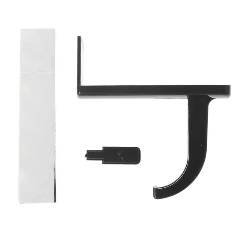 1PC Headphone Headset Hanger Monitor Stand Holder Headset Stick-on Hook