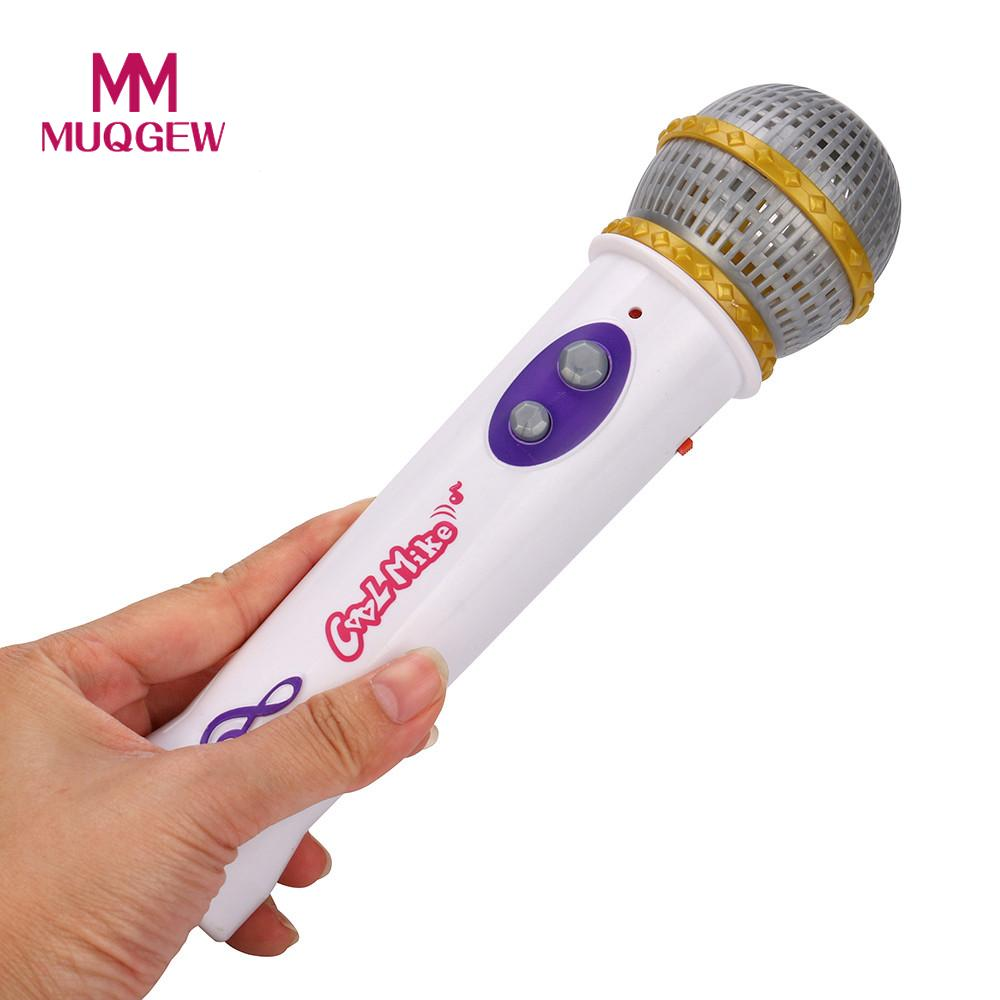 Kids Toy Girls Boys Microphone Mic Karaoke Singing Kid Funny Gift Music Toys For Children Karaoke Infantil Drop Ship #M