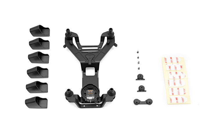 Zenmuse X5 Vibration Absorbing Board for DJI Inspire,Is Made From Shock-resistant Magnalium Which Effectively Absorbs Vibrations dji wings s1000 a2 zenmuse z15 5d mark iii