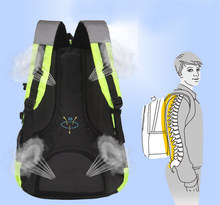 Multi-function Men Backpack Mountaineering Polyester Bags Waterproof