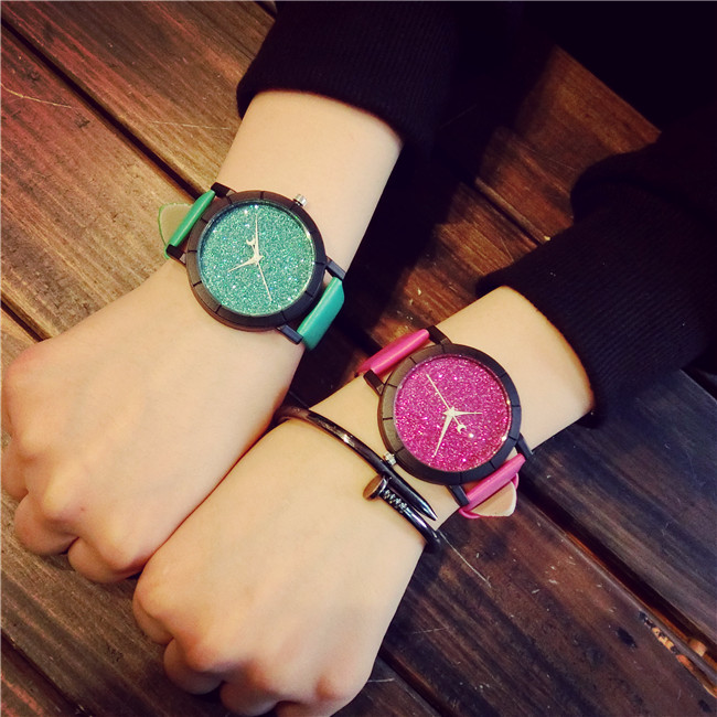 Fashion Ladies Wrist Watch Women 2017 Brand Famous Female Clock Quartz Watch Hodinky Quartz watch Montre