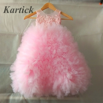 Hot Princess Flower Girl Dresses Ball Gown Dress for Wedding Little Girls Kids/Children Communion Ball Party Pageant Dress new girls puffy dress with bow ball gown flower girls dresses for wedding baby girls birthday party dress pageant gown