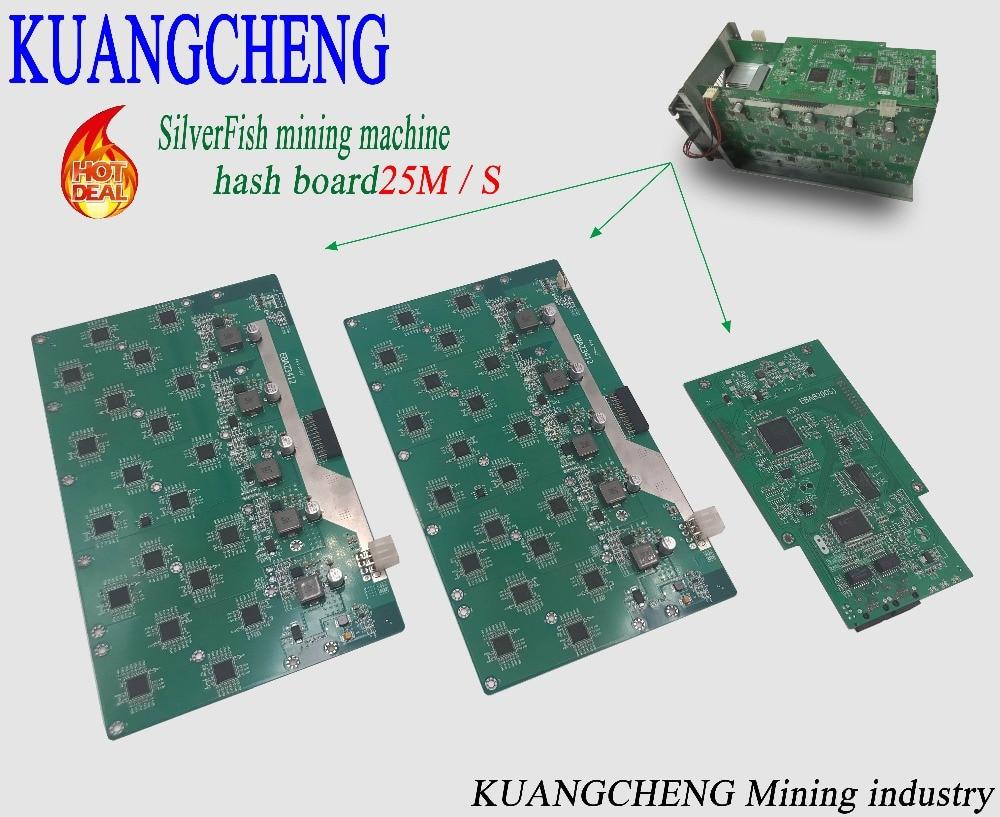 SilverFish Hash Board 25M Litecoin Miner Scrypt Miner The 420w Better Than ASIC Miner Zeus 25M Litecoin