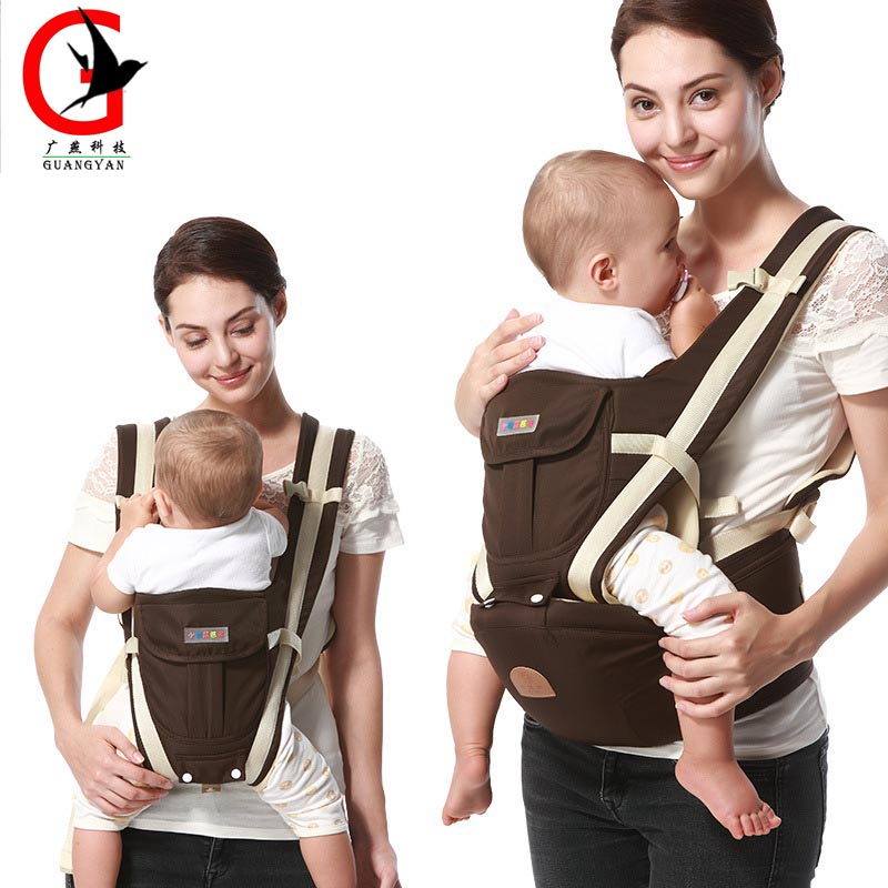 2017 Fashion Baby Carrier Hipseat Baby Backpack Ergonomic Carrier Multifunctional Baby Wrap Slings For Babies Xcye-5007 hot baby carrier infant hipseat backpack children s backpack multifunction slings for babies cotton baby hipseat mochilas pt427
