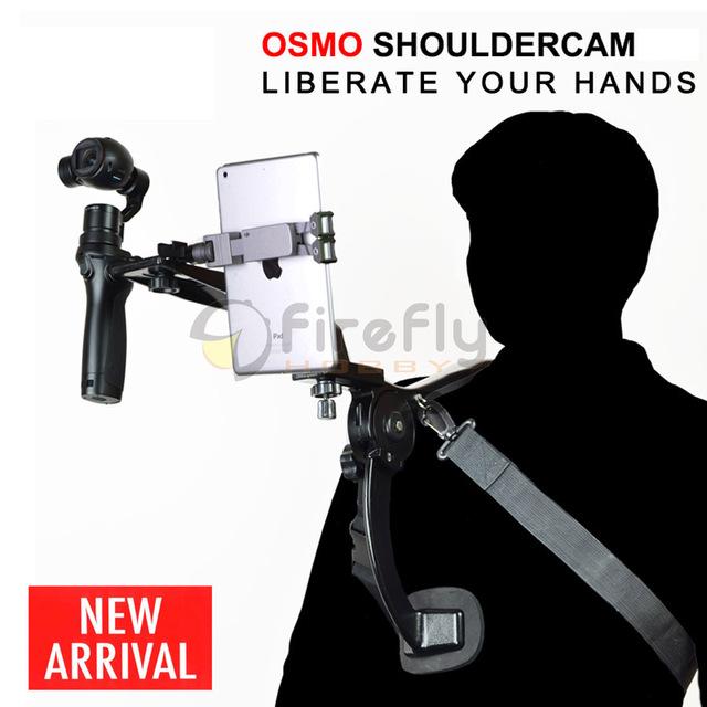 Ombro Montar Titular Suporte de Câmera No Ombro Mão de Lançamento para Osmo (+)/OSMO Móvel