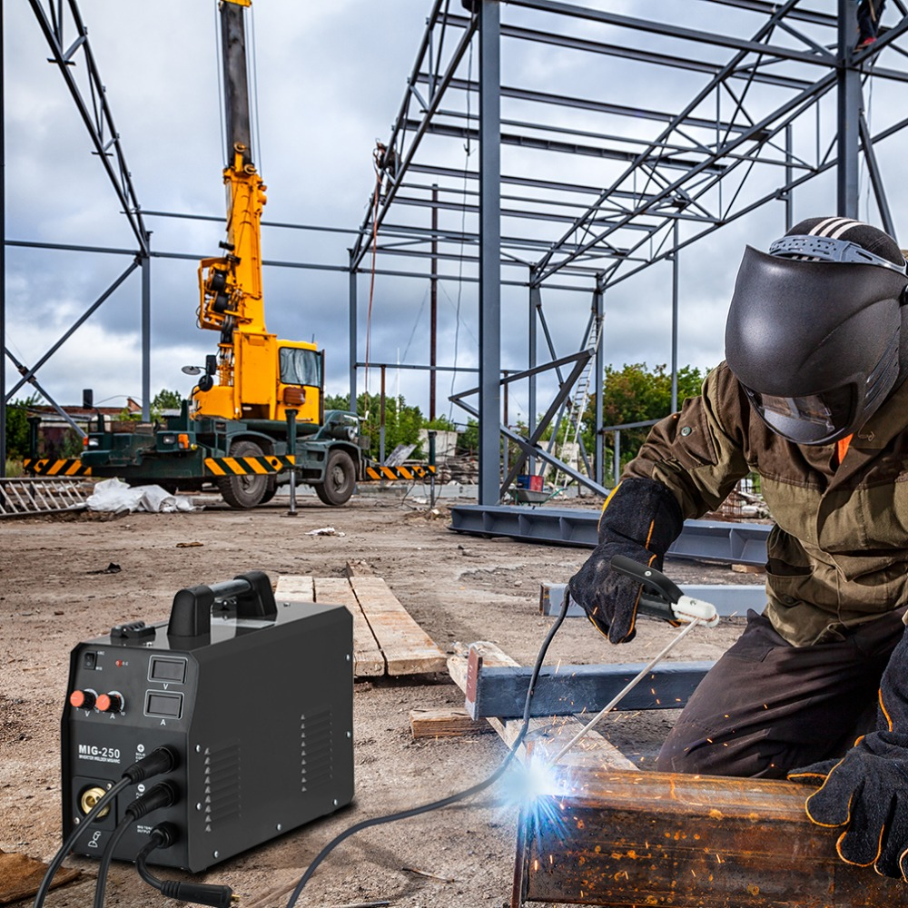 MIG250 welding machine 07