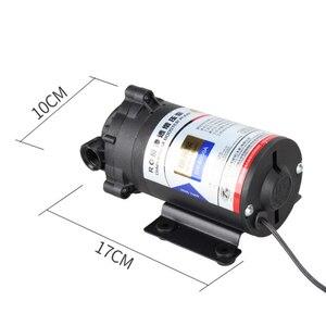 Image 4 - Osmosi inversa Pompa Booster 50 GPD per 75 Gallon 24 v Trasformatore Con Raccordi Rapidi Aumentare Depuratore di Acqua di Flusso di Pressione pompa