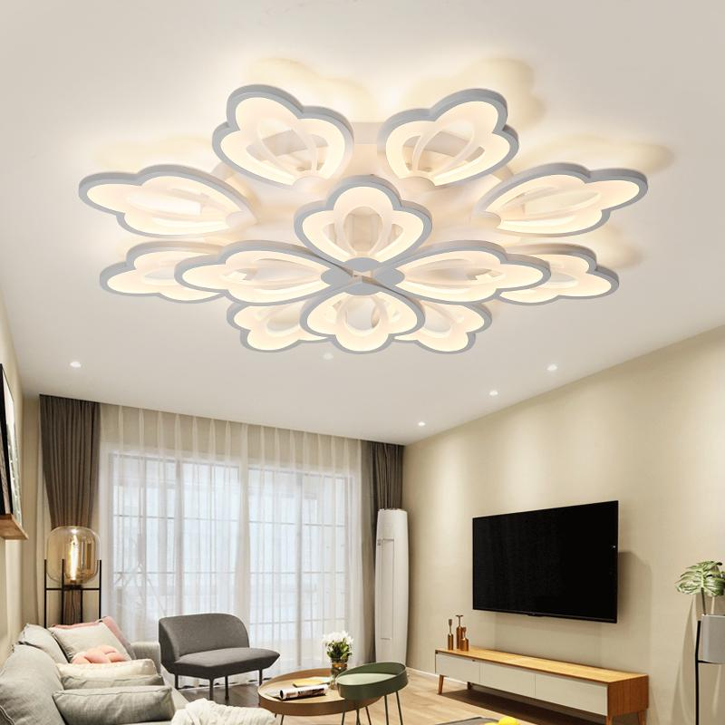 led ceiling lights Living room minimalist atmosphere led Nordic fashion creative personality Jane European bedroom ceiling abaju led ledchandelier post modern minimalist living room nordic creative bedroom dining room lights abaju