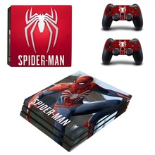 Spiderman Spider-man PS4 Pro Skin Sticker Vinyl Decal Sticker