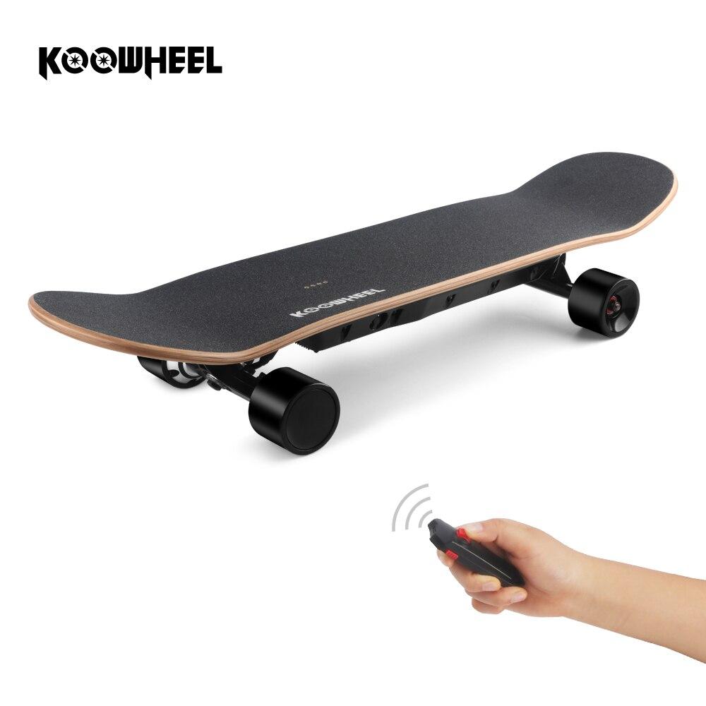 KOOWHEEL D3S stinger Skateboard Electric 4 Wheel Skate Board with Dual Hub Motors 6 5 adult electric scooter hoverboard skateboard overboard smart balance skateboard balance board giroskuter or oxboard