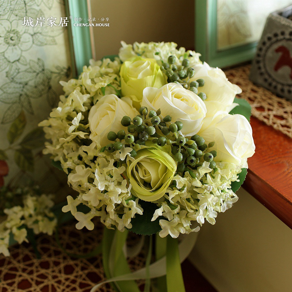 Blue And White Flowers For Weddings: Tiffany Blue Wedding Bouquets Pe Rose Tiffany Blue And