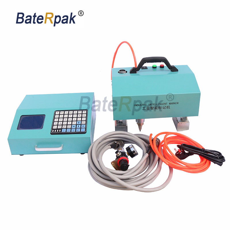 ZK series BateRpak Intelligent control Handheld pneumatic marking engraving machine,Portable industrial tag machine цена