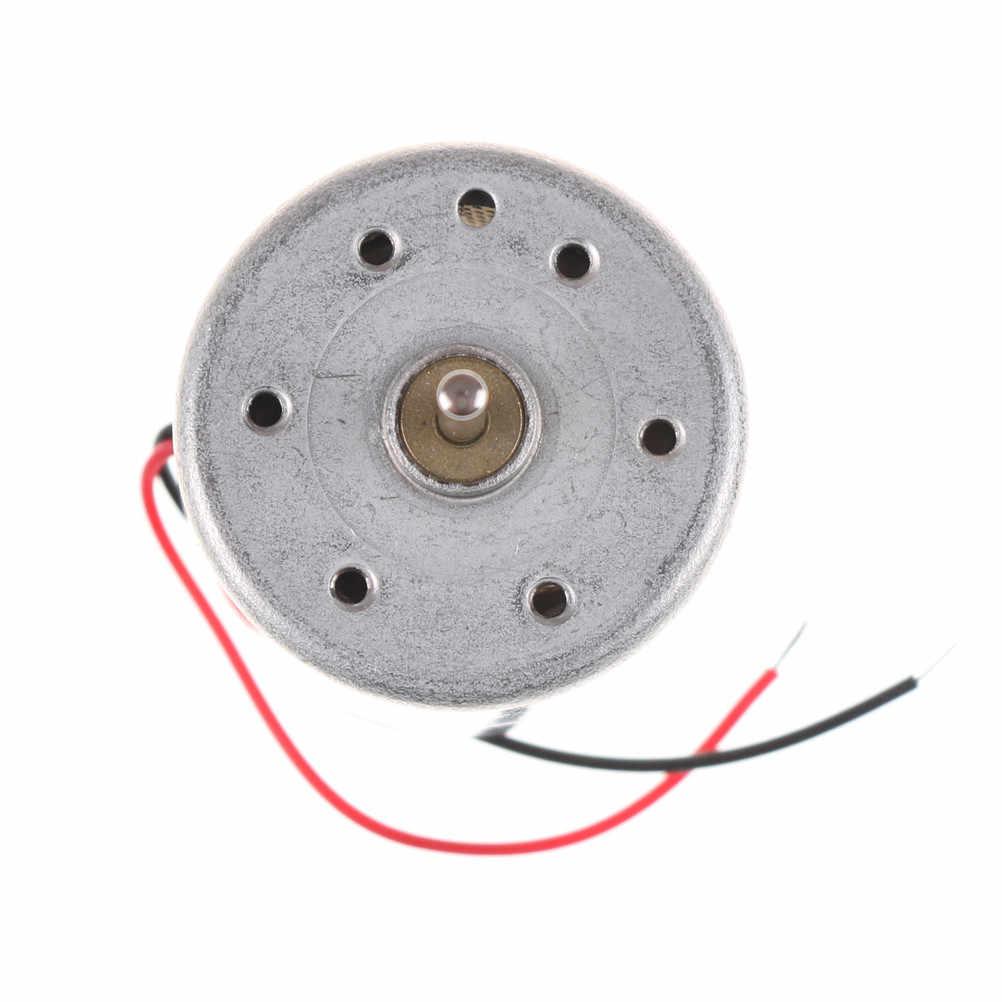 1X микро двигатель постоянного тока RF-300C 6600 об/мин DC 1,5 V-6 V начать лазер формованные Запчасти игрушка моторы аксессуары для DIY Сделай Сам