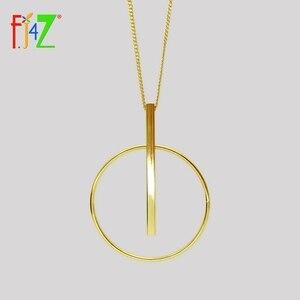 F.J4Z Big Circle Bar Pendant N