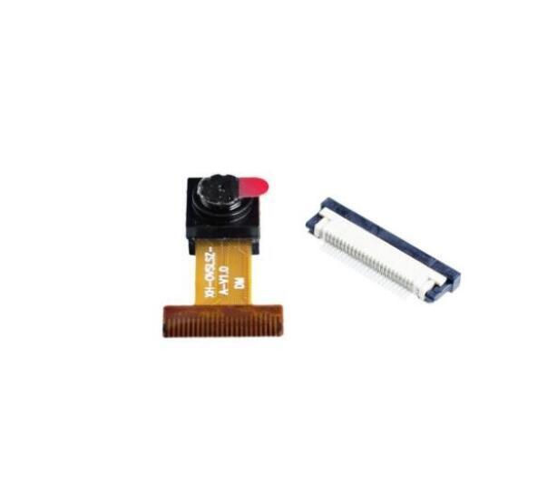 10 pcs  640x480 Pixel lens OV7670 CMOS Camera Module+24p Socket 2.5V-3.0V Hot Sale