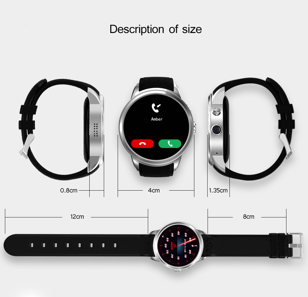 X200 Smart Watch 3G Wifi Bluetooth GPS Watch MTK6580 Android 5.1 Smartwatch Phone heart rate monitor Camera ROM 16GB RAM