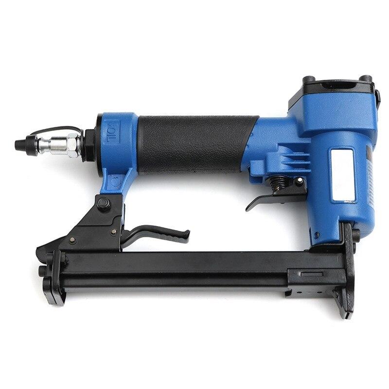 New Arrival 2018 DIY Home Pneumatic Nailer Air Nail Guns Stapler DIY Power Tools Decor Professional Woodworking Hand Tools Kit coil nailer cn70 coil nail guns air gun