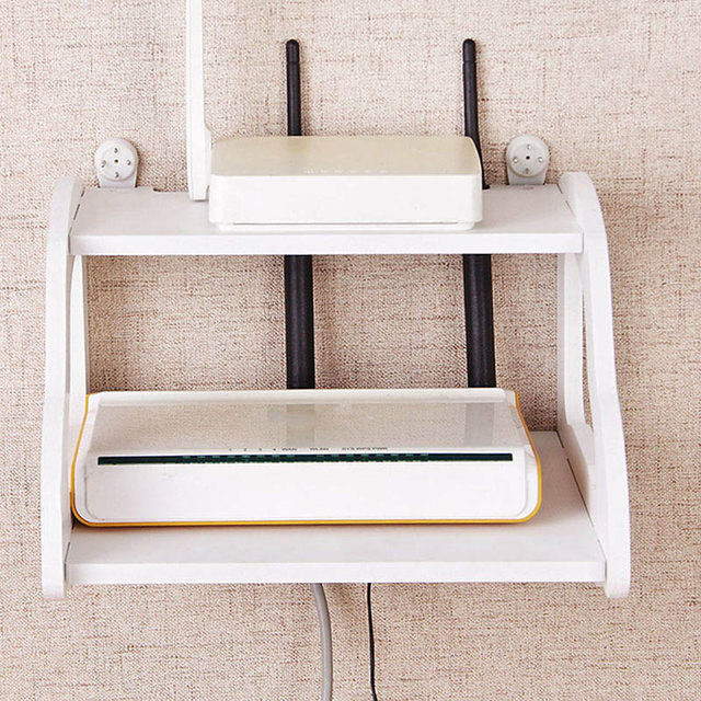 Online Shop White Storage Decorative Wall Shelf Home Wifi Router Shelf Wall Mounted TV Set Up Box Storage Rack Car Shaped Holder | Aliexpress Mobile & Online Shop White Storage Decorative Wall Shelf Home Wifi Router ...