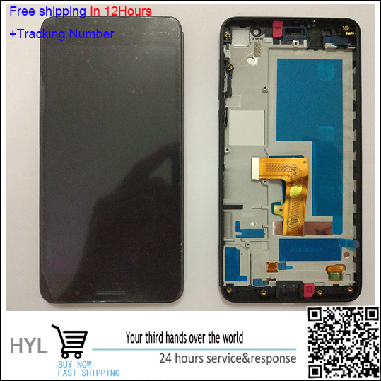 Free shipping White or Black  LCD Display +Touch Screen Digitizer Assembly with frame For Huawei Honor 6 H60-L02 H60-L12 H60-L04 touch screen digitizer for caterpillar cat b15 or b15q black free shipping
