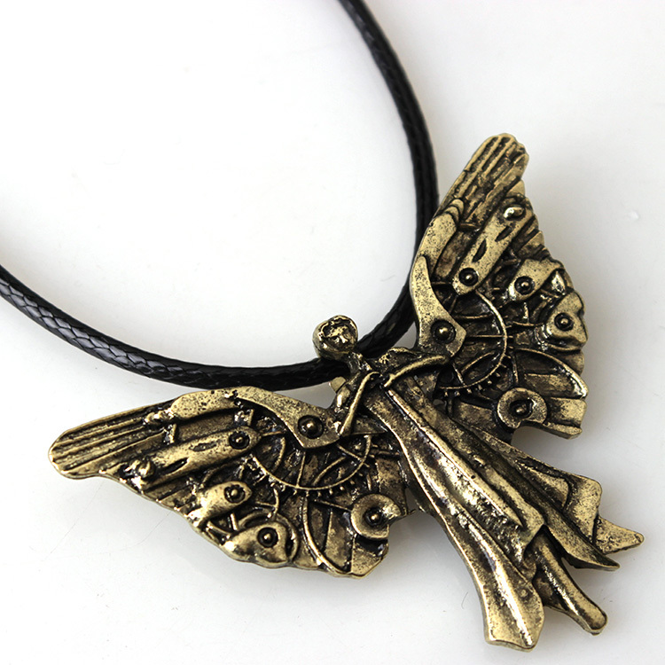 necklace by steamsociety time on flies clockwork deviantart art