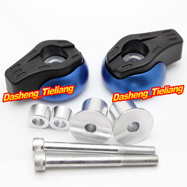 For Yamaha FZ8 2012 2013 & FZ1 2001 2011 Frame Sliders Crash Pads ...