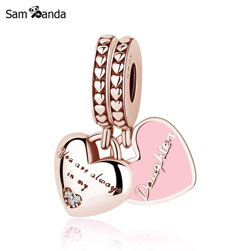 925 Sterling Silver Bead Charm Mother