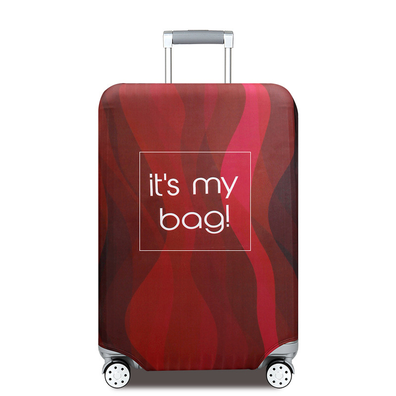 Travel Elastic Elastic Fits 26-28 Inch Suitcase Protector Cute Monkey Snout Teeth Smile Animals Luggage Cover