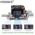 35 W usb probador carga electrónica ajustable resistencia de envejecimiento de corriente constante capacidad de voltaje qualcomm qc2.0/3,0 voltímetro de batería