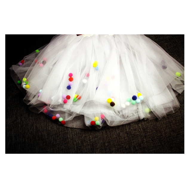 2016 Baby Girl Tutu Skirts Kids Cute Princess Clothes Birthday Gift Toddler Ball Gown Party Children Skirt Ball Cake Skirt Veil