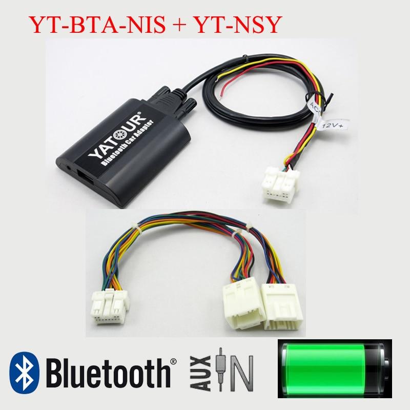 Yatour per auto bluetooth mp3 adattatore aux per nissan infiniti con sistema di navigazione