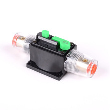 12V DC 60A Car Audio Solar Energy Inline Circuit Breaker Reset Fuse Holder Top Quality circuit breaker reset fuse holder 50amp 100amp circuit breaker reset fuse holder car boat fuse holders waterproof 12 24v new 60a