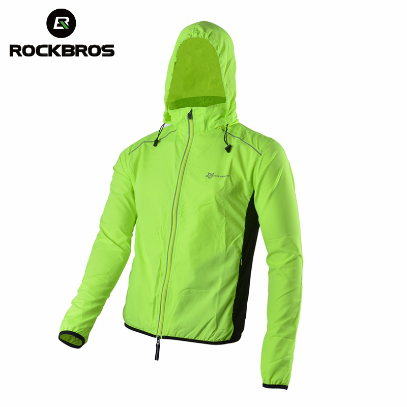 ROCKBROS Jersey-Jacket Cycling-Jersey Bike Bicycle Wind-Coat Long-Sleeve Reflective Sports