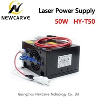 50W CO2 Laser Power Supply For 30W 40W Laser Tube HY T50 NEWCARVE