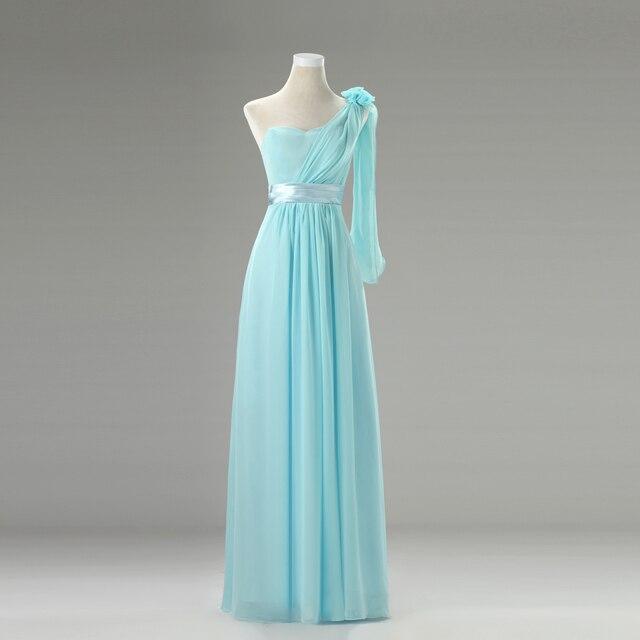 Vestido fiesta azul celeste