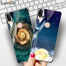 Vanveet Glass Case For Huawei P20 Pro Lite Case Coque For Huawei P20 Plus nova 3E P20Pro Case Painted Cover Back Fundas Housings for huawei p20 lite leather case for p20 pro cover wallet zipper protector etui coque for huawei p20 p20pro case fundas bag