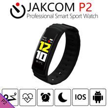 JAKCOM P2 Profissional Inteligente Relógio Do Esporte venda Quente em Trackers Atividade como bluethooth Inteligente câmera luneta trova chiavi