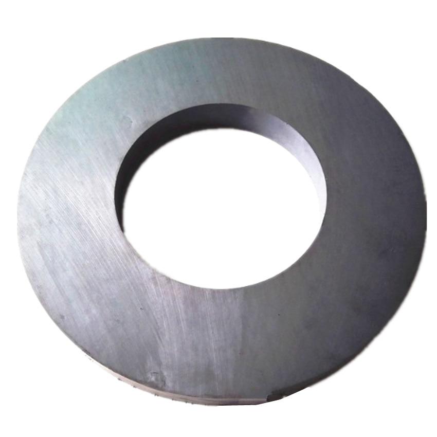 Ferrite Magnet Ring OD 190x90x20 mm 7.5 large for subwoofer grade C8 Ceramic Magnets for DIY Loud speaker Sound Box home use ferrite magnet ring od 80x40x15 mm 3 15 dia large c8 ceramic magnets for diy loud speaker sound box board subwoofer diy