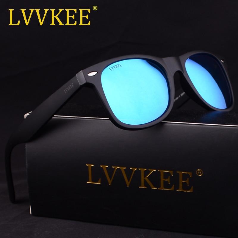 2018 New LVVKEE Brand Women Polarized Sunglasses Classic Rivet Travel Sun glasses for Men Oculos Gafas De Sol With Original Case