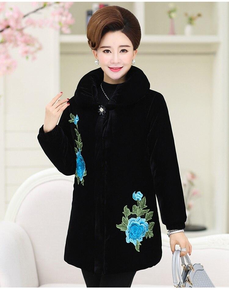 Pour 1830 Vêtements De Haute Bas Femmes Manteau Color Parc Plus taille Chaud Le photo Velours Or Vers Coton Qualité Photo Nouvelle Color Veste D'hiver UqxrUwHZ