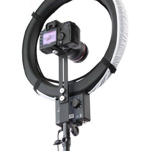 Nanguang Z типа держатель Камеры Кронштейн, пригодный для CN-R640 ПРИВЕЛО Световое Кольцо и Штатив