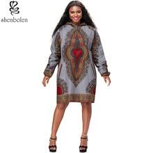 hot deal buy 2018 new fashion africanautumn winter print shirt dashiki shirt african coat african print j